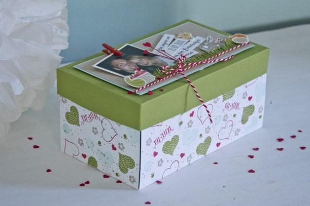 Eine weitere Box für einen Heiratsantrag