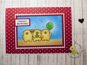 Happy birthday – eine besondere Geburtstagskarte