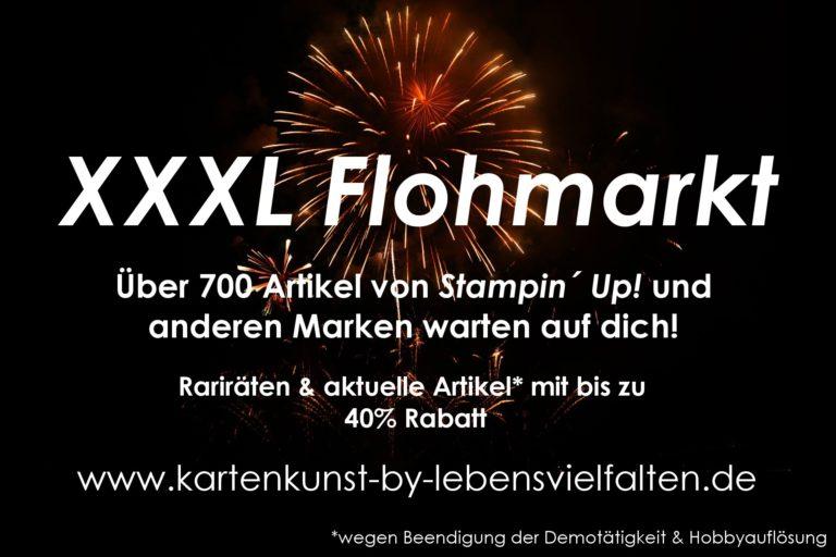 XXXL Stampin Up Flohmarkt nun eröffnet