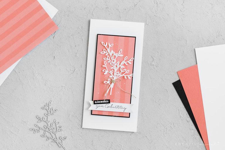 Geburtstagskarte – Stempelset Beste Wünsche