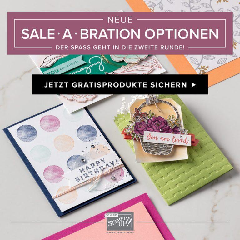Sale-A-Bration Halbzeit mit neuen Angeboten
