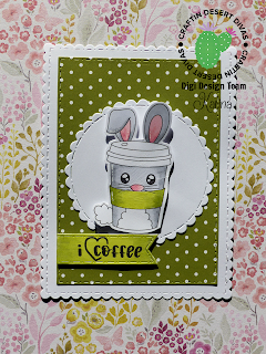 DT CDD Post – Bunny Coffee Cup