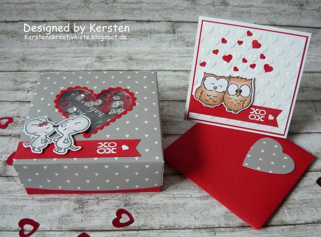 Schüttel-Box zum Valentinstag
