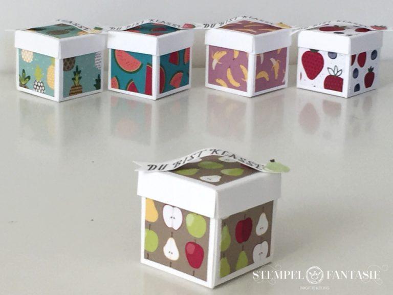 Mini-Boxen Tutti Frutti mit Video-Tutorial
