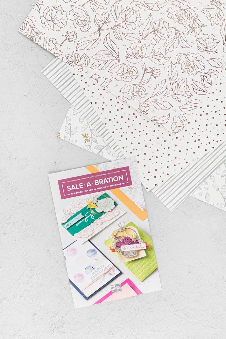 Neue Sale-a-Bration Produkte  – Stempelsets & Designerpapier