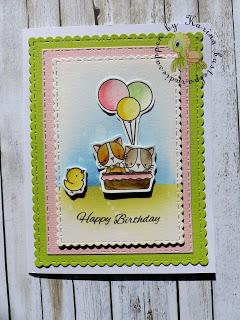 auch im März Geburtstagskarten
