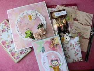 Card Candy Tausch – für Monika…