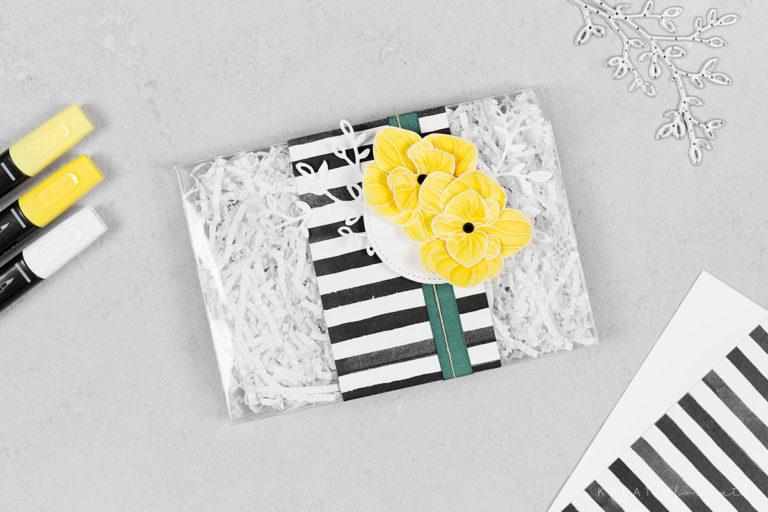 Geschenkschachtel Orchideenzweig – Blumen & Blüten