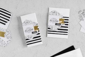 Gutschein-Leporello & Karte  Kartenset Gruß + Glück