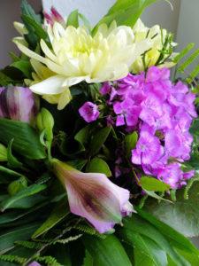 wöchentlicher Blumenstrauß