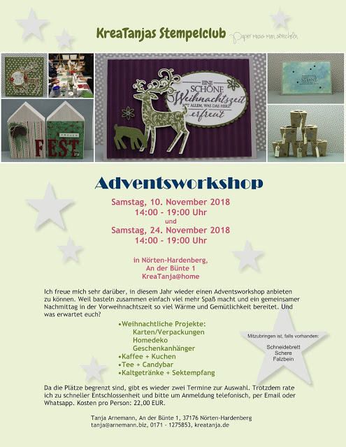 Adventsworkshop