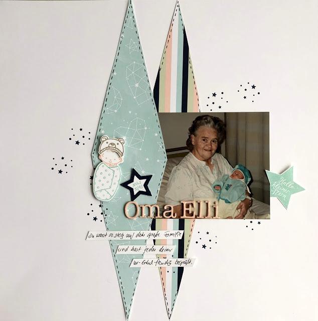 Oma Elli – Sketch der Woche im Scrapbooktreff