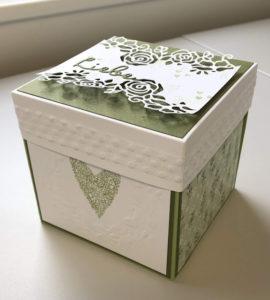 Eine Explosionsbox zur Hochzeit