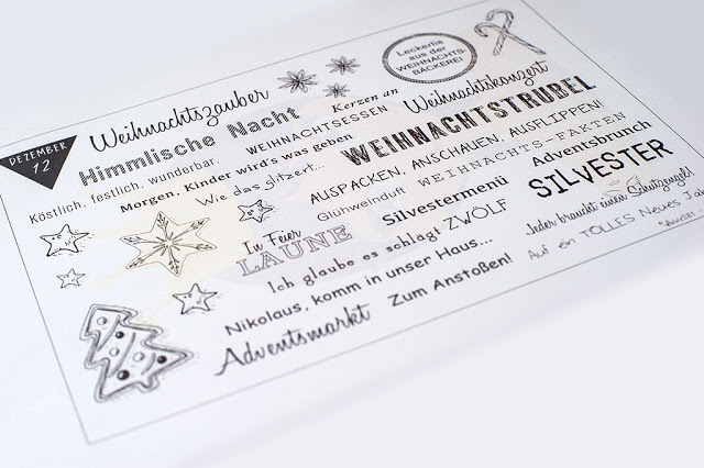 Weihnachtskarten Produktion – Alle Jahre wieder…
