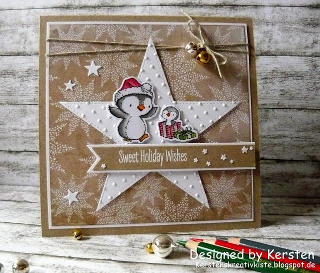 Fröhliche Weihnachts-Pinuine
