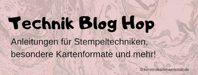 Technik Blog Hop – Polished Stone Technik
