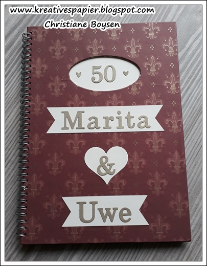 Gästebuch zur Goldenen Hochzeit