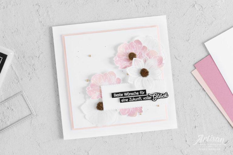 Grußkarte Florale Freude – Dauerblüher