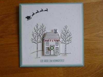 Weihnachtskarten-Adventskalender