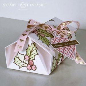 Origami-Haus-Box mit Tutorial
