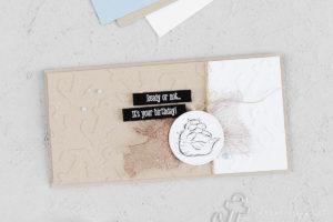 Geburtstagskarte – We'll walrus be friends