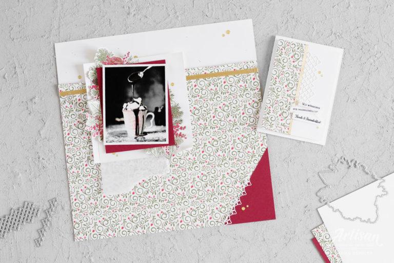 Wunderbare Weihnachtszeit – Layout & Karte