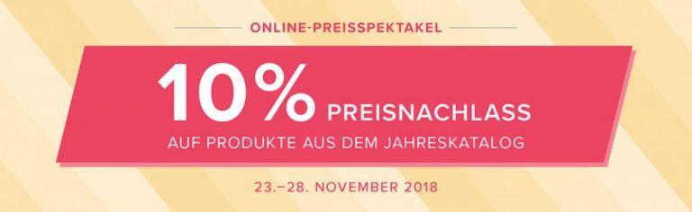 Online – Preisspektakel