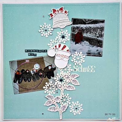 Nikolaus mit Schnee