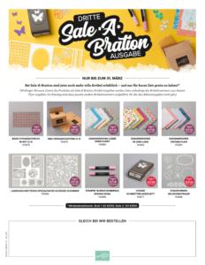 Sale-A-Bration Teil 3 – noch mehr GRATIS-Produkte!