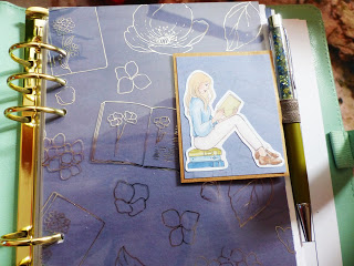 Pen Loop / Stiftehalter für meinen Planner