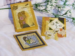 3 Projekte aus einem DINA5 Briefumschlag