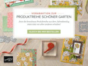 """Produktreihe """"Schöner Garten"""" – ab 1. April erhältlich!"""