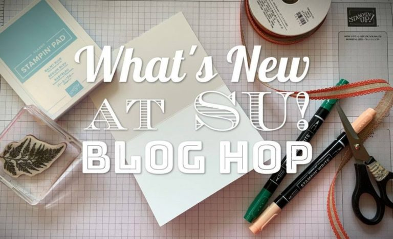 Whats new at Stampin' Up! Blog Hop – Minikatalog