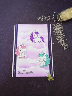 Einhorn Karten – Isabel Cristina Stempel