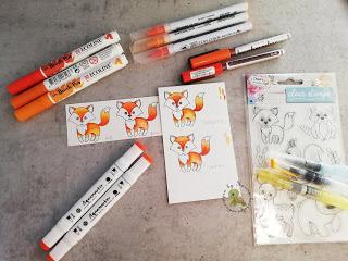 vier verschiedene Watercolor Stifte im Test – Video
