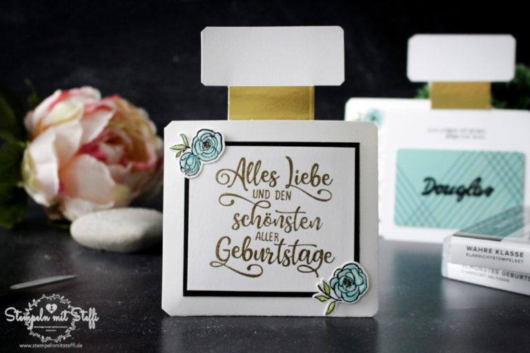 Parfum Gutscheinkarte (inkl. Videoanleitung)