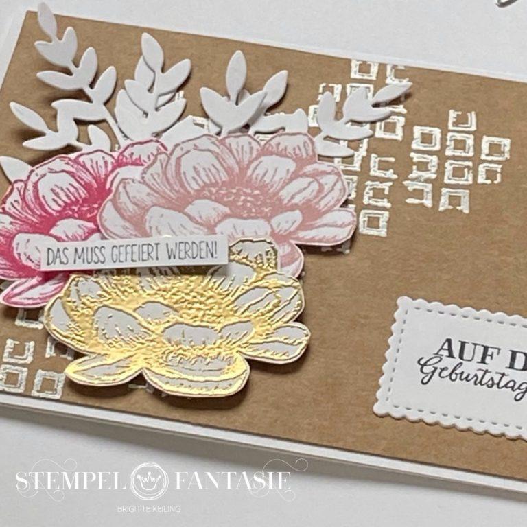 Geburtstagskarte – Geschmackvoll gestaltet