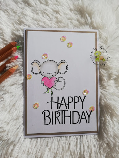 easy peasy Geburtstagskarte #1 mit Pastelstiften coloriert – Video