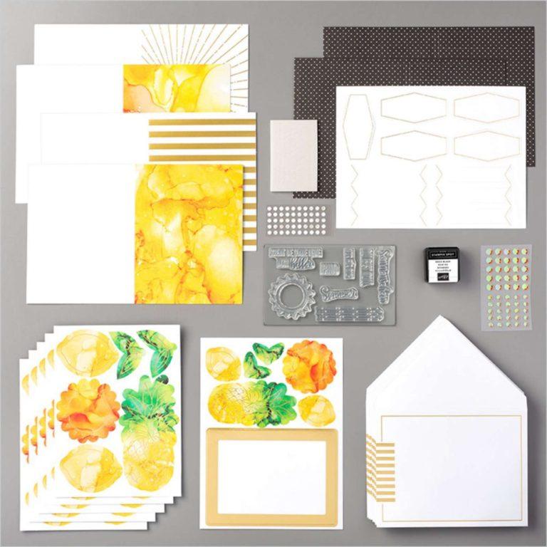 """Ein neues Paper Pumpkin-Set """"Sonne pur"""" – ab 11. August bestellbar"""