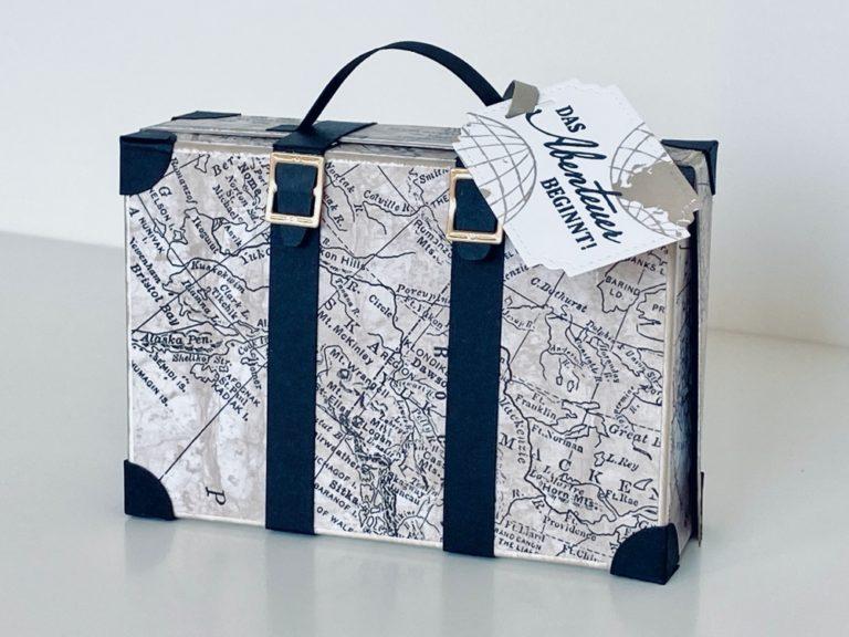 Koffer-Box mit Leporello