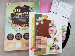 Craft Update Mini mit Luxe Paper Block vom Action – Video