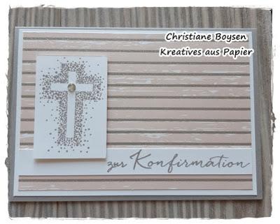 Karten & Geschenkverpackung zur Konfirmation